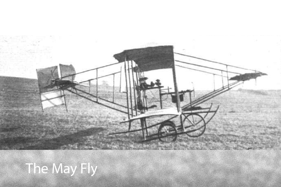 The May Fly Biplane