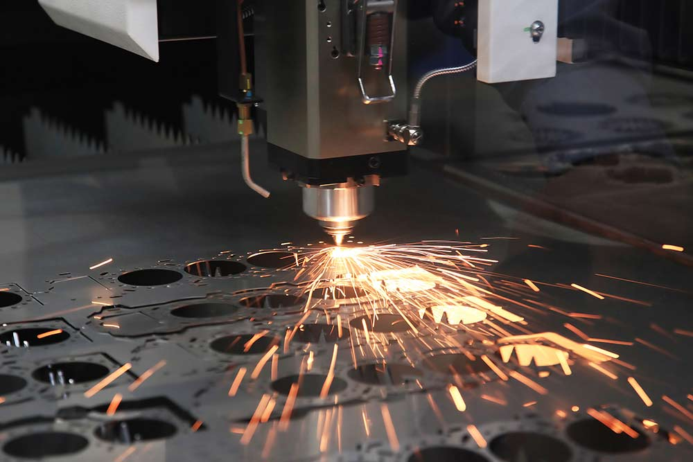 Precision sheet laser cutting