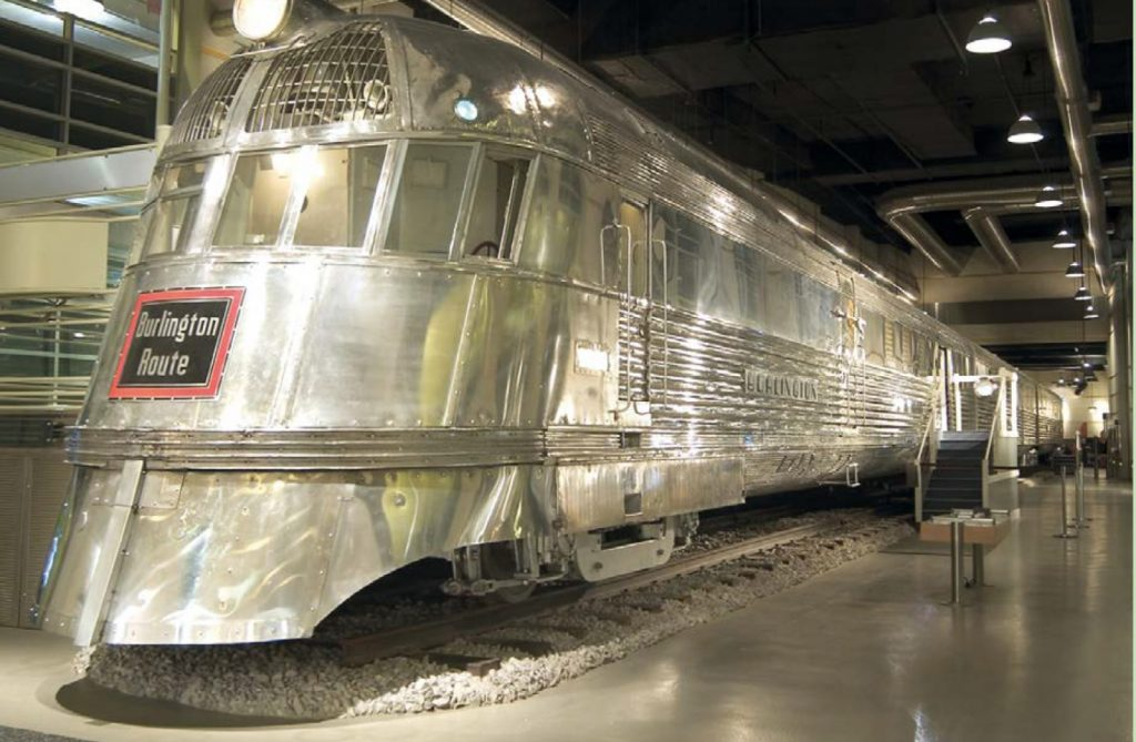 Image of the Pioneer Zephyr Train